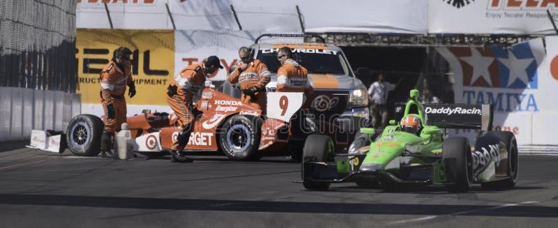 Het rennen Izod Indycar Reeks stock afbeeldingen