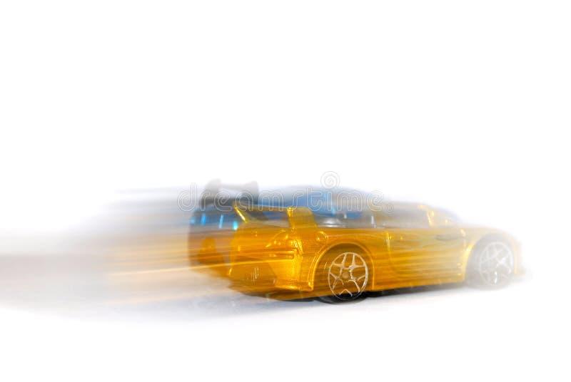 Het rennen van auto's stock foto