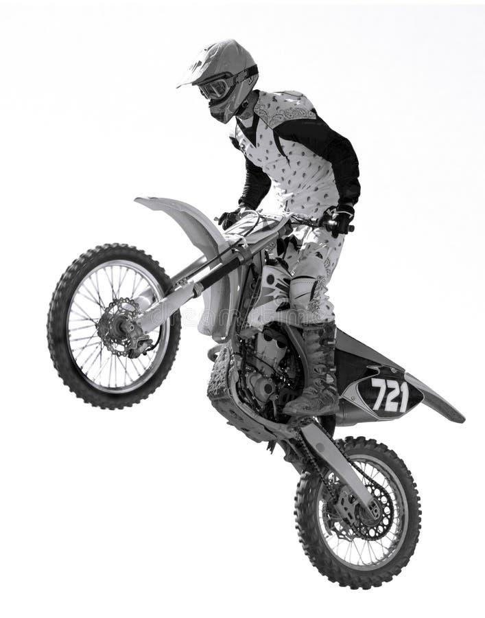 Het Rennen van de motocross stock foto's