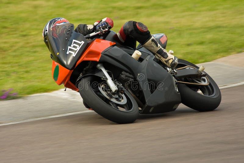 Het rennen van de motor. stock foto