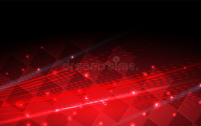 Het rennen vierkante achtergrond, vectorillustratieabstractie in auto stock illustratie