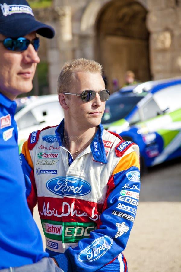 Het rennende team van Abu Dhabi stock afbeeldingen