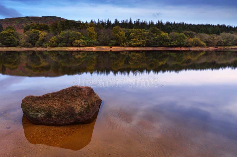 Het Reservoir van Burrator royalty-vrije stock fotografie
