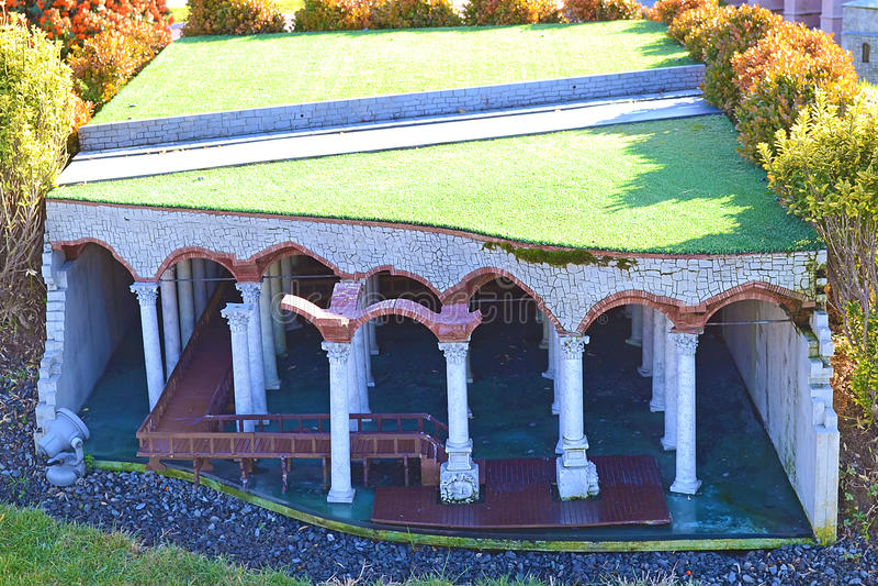 Het Reservoir van de basiliek royalty-vrije stock foto