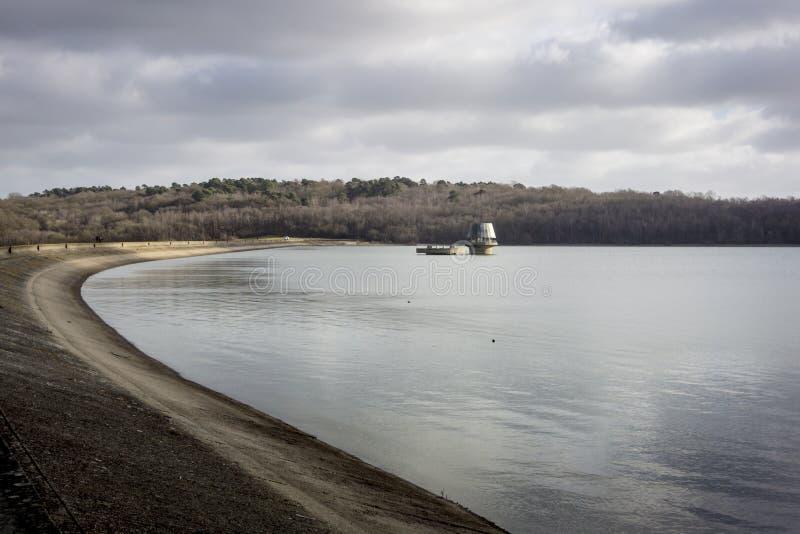 Het Reservoir van het komwater stock afbeeldingen