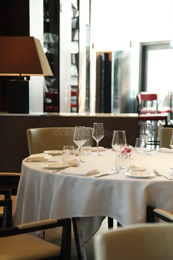 Het restaurant stock afbeelding