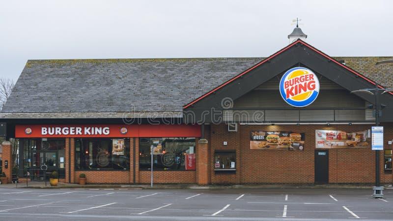 Het Restaurant van Burger King royalty-vrije stock afbeeldingen