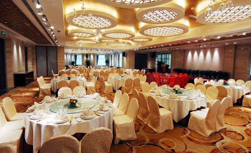 Het restaurant van de luxe royalty-vrije stock foto's