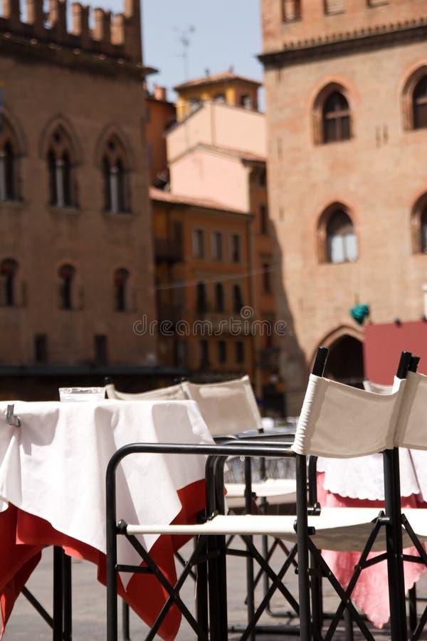 Het Restaurant van de straat royalty-vrije stock afbeelding