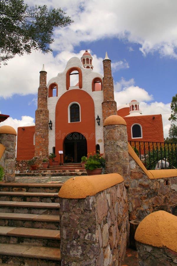 Het restaurant van Guanajuato stock afbeelding