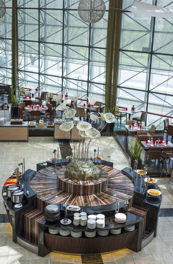 Het Restaurant van het buffet royalty-vrije stock foto's