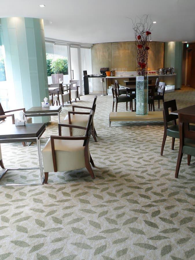 Het restaurant van het het hotelbuffet van de luxe stock foto's