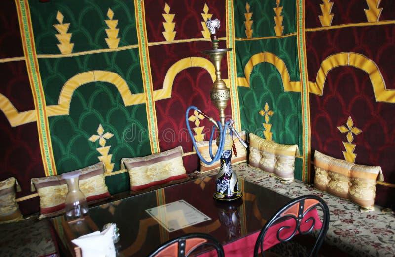 Het restaurant van Morrocan stock fotografie