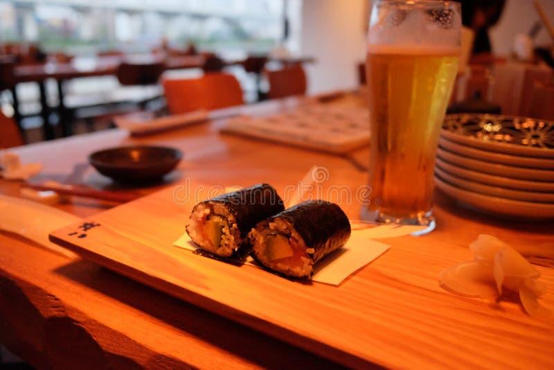 Het restaurant van sushi in Tokyo royalty-vrije stock foto's