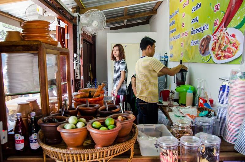 Het restaurant van Thailand royalty-vrije stock foto