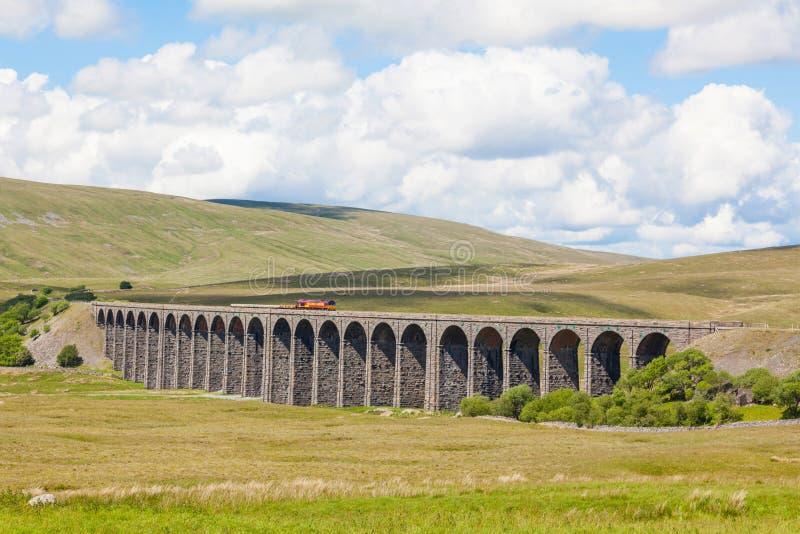 Het Ribblehead-Viaduct stock afbeelding
