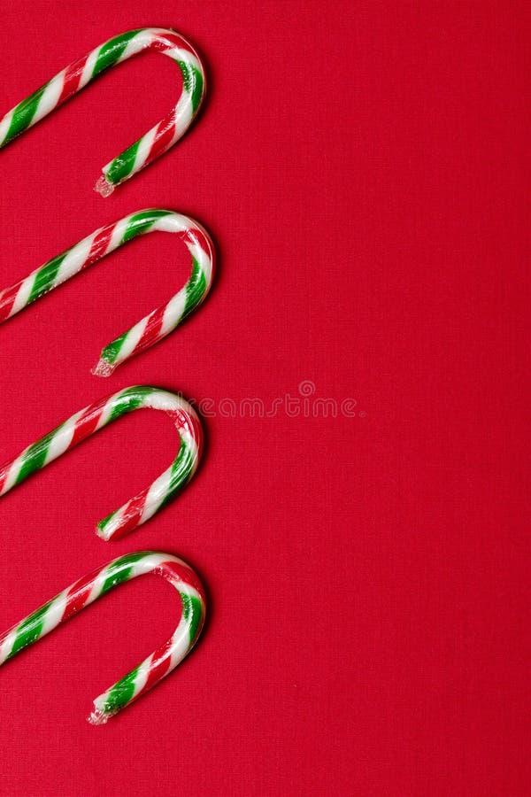 Het rietachtergrond van het suikergoed stock fotografie