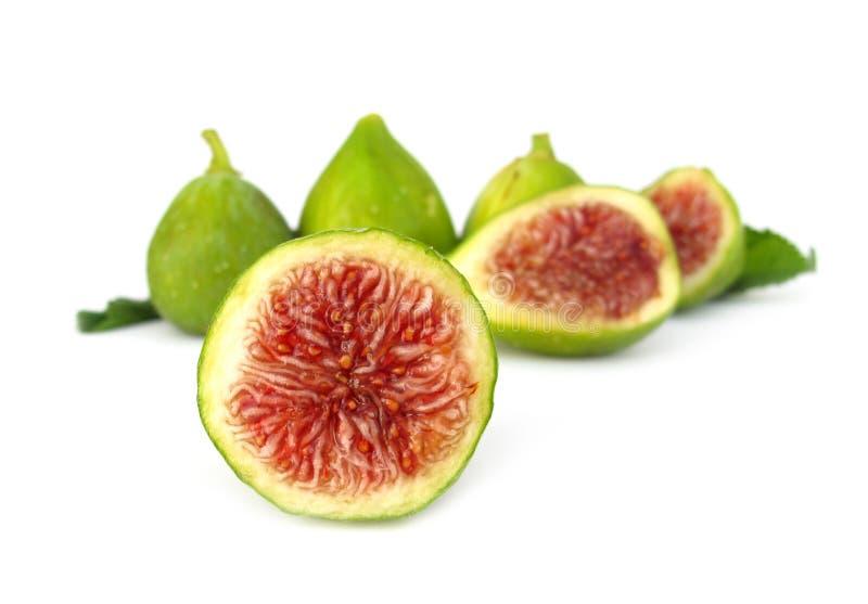 Het rijpe rood van fig. royalty-vrije stock foto