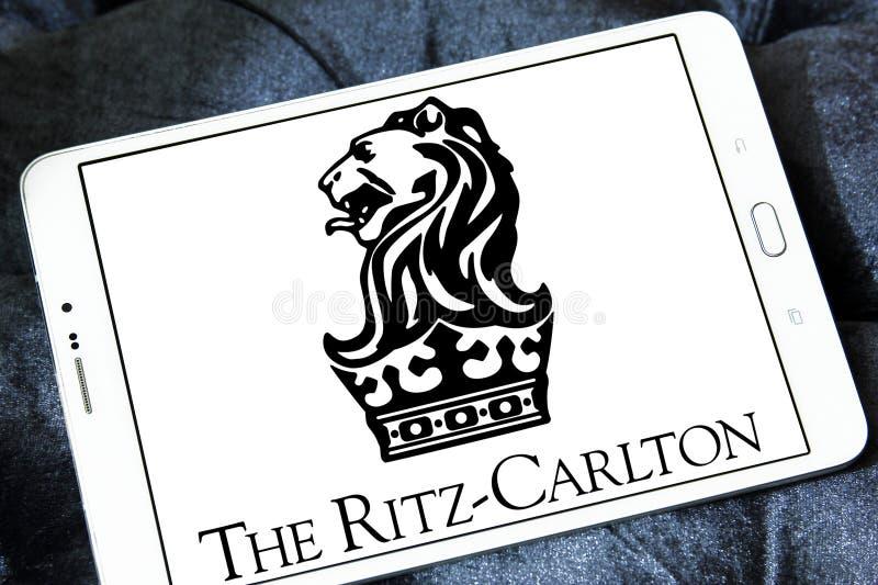 Het ritz-Carlton hotelsembleem stock afbeelding