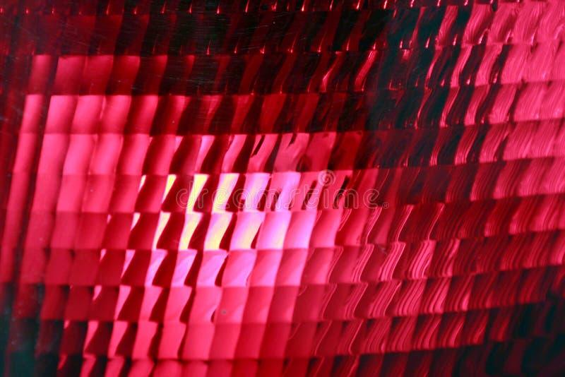 Het rode eindelicht, sluit omhoog royalty-vrije stock foto's