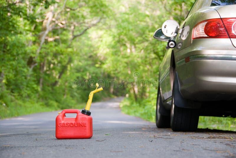 Het rode Gas kan royalty-vrije stock afbeeldingen