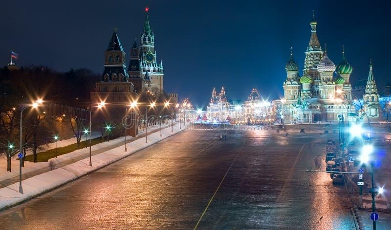Het Rode Vierkant van Moskou royalty-vrije stock afbeeldingen