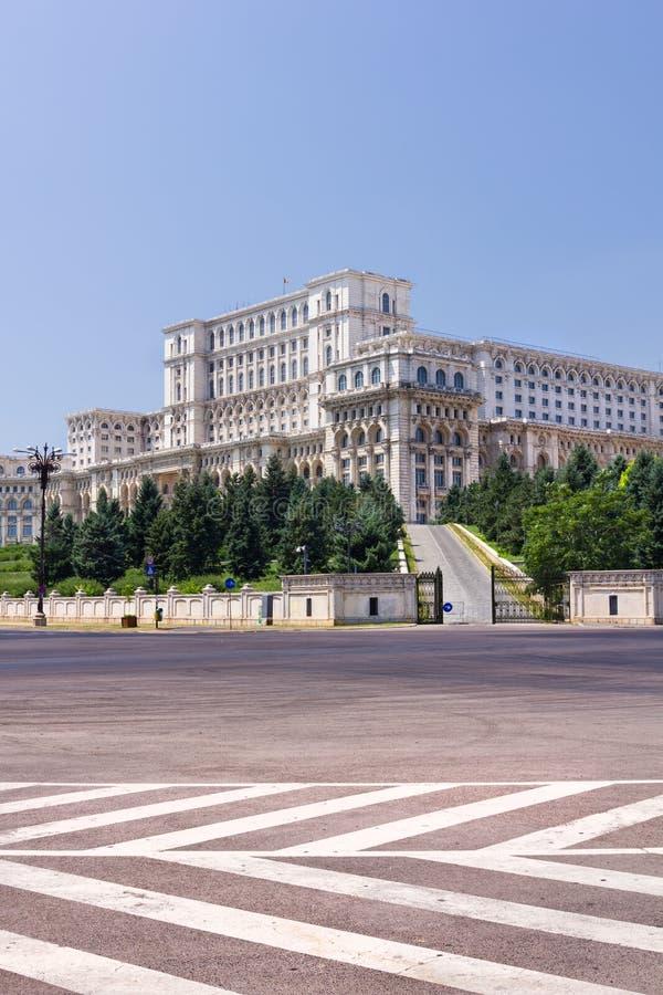 Het Roemeense parlement royalty-vrije stock fotografie