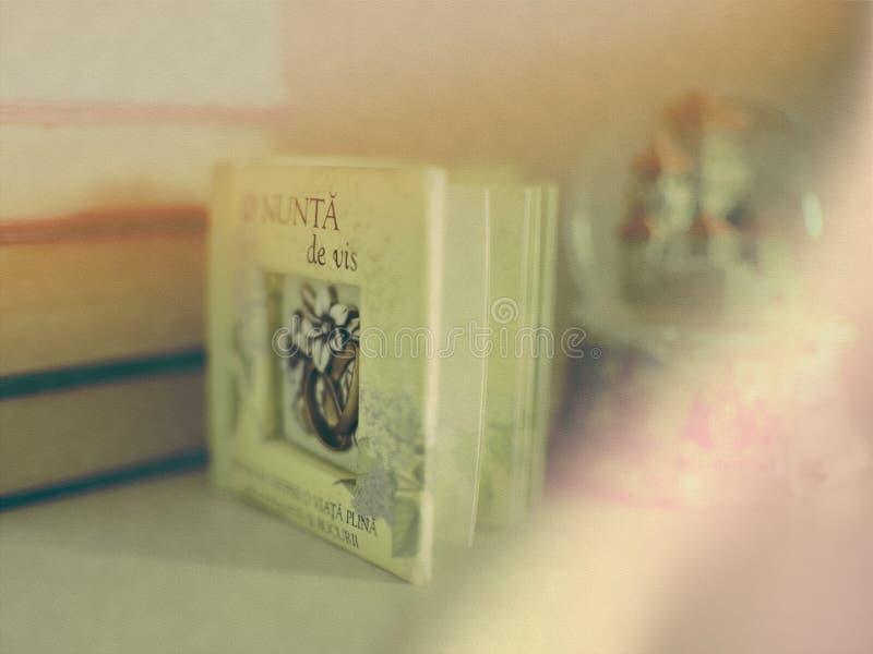 Het Roemeense schrijven van huwelijkscitaten royalty-vrije stock afbeelding