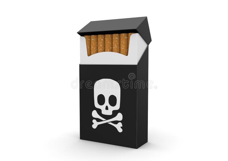 Het roken doden royalty-vrije illustratie