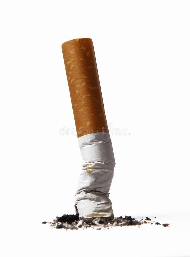 Het roken van het einde. royalty-vrije stock afbeelding