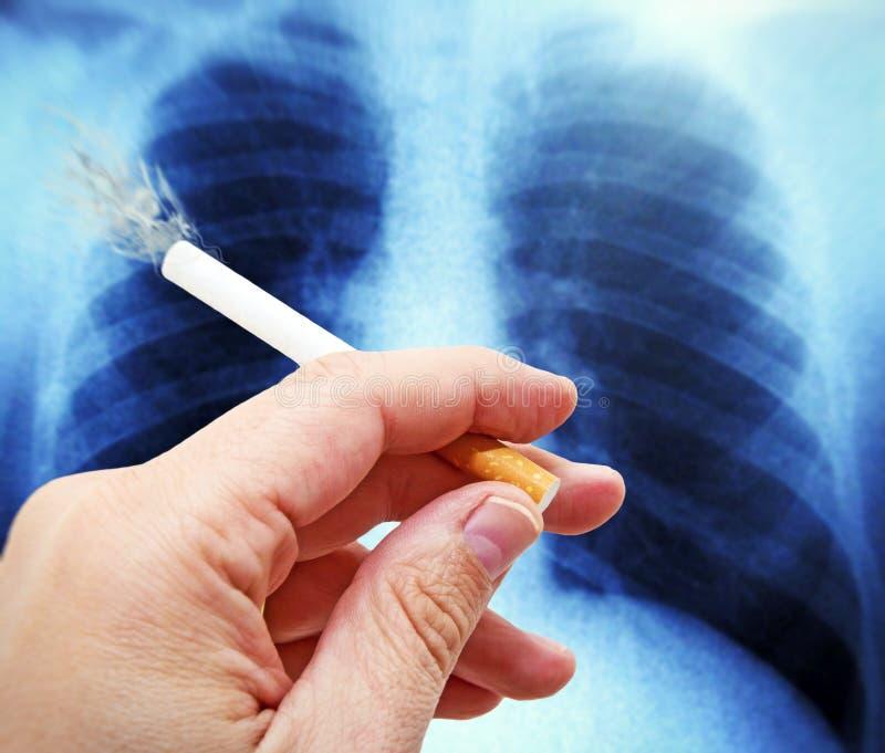 Het roken van of niet het roken royalty-vrije stock afbeelding