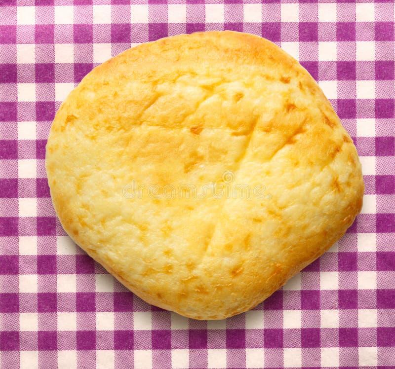 Download Het Ronde Broodje Van Het Zure Roomdessert Stock Foto - Afbeelding bestaande uit cake, pannekoek: 54078254