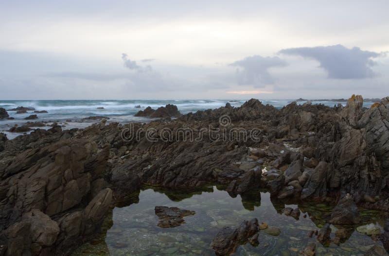 Het rotsachtige Zeegezicht van de Kust royalty-vrije stock foto