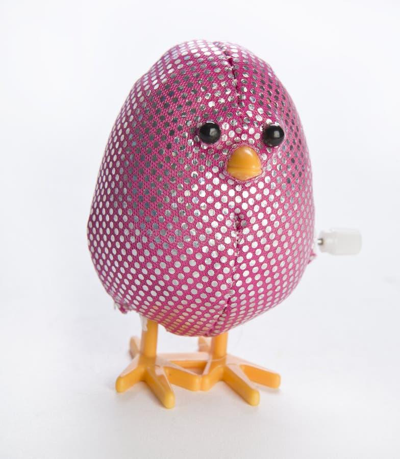 Het roze beëindigt Paaseistuk speelgoed royalty-vrije stock afbeelding