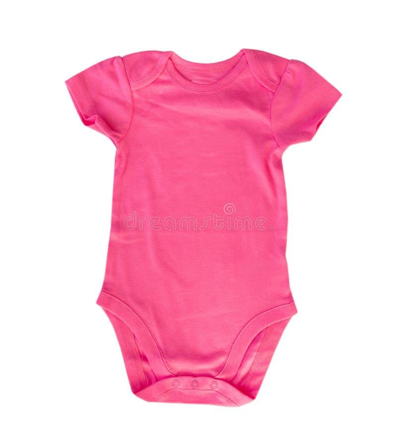 Het roze lichaamskostuum isoleerde lege ruimtespatie stock foto