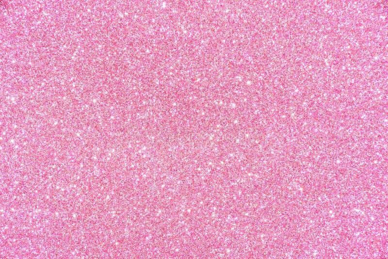Het roze schittert textuur abstracte achtergrond royalty-vrije stock afbeelding