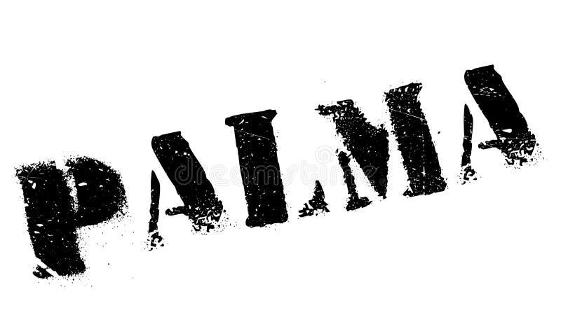 Het rubber van de Palmazegel grunge vector illustratie