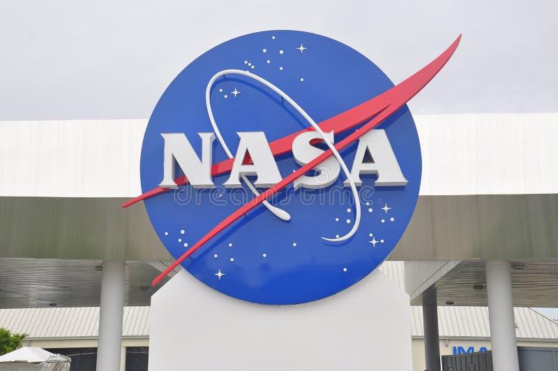 Het Ruimtecentrum van NASA in Florida stock afbeeldingen