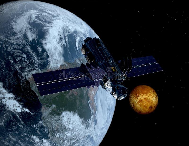 Het ruimteschip stock foto's