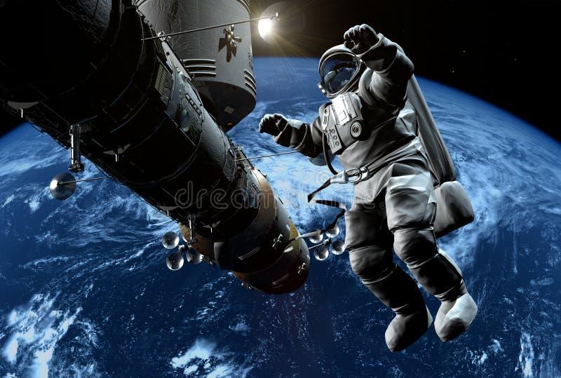 Het ruimteschip vector illustratie