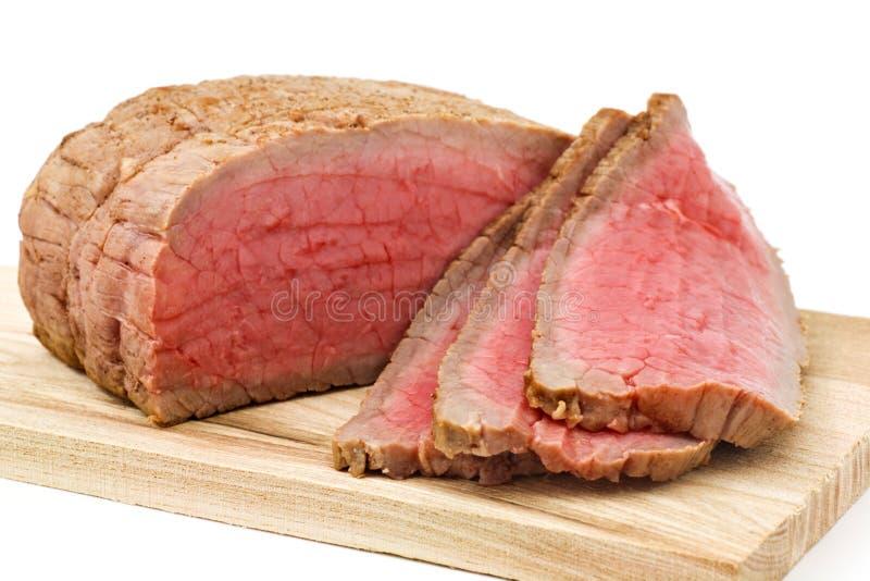 Het Rundvlees van het braadstuk stock afbeeldingen