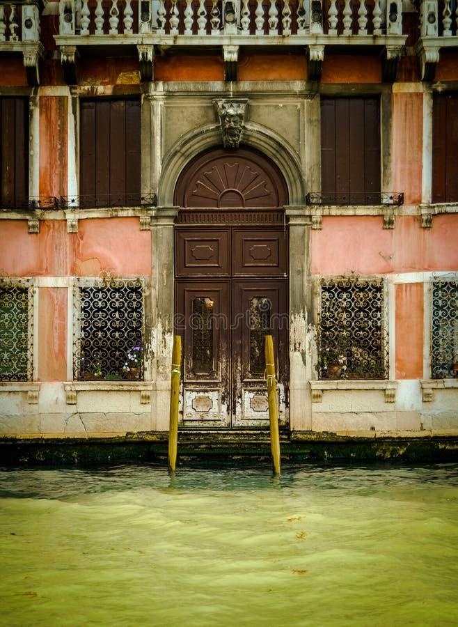 Het rustieke Huis van Venetië royalty-vrije stock foto