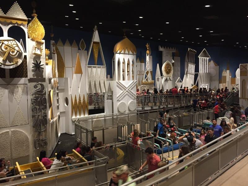 Het ` s een Kleine Wereld, Magisch Koninkrijk, Orlando Florida royalty-vrije stock foto