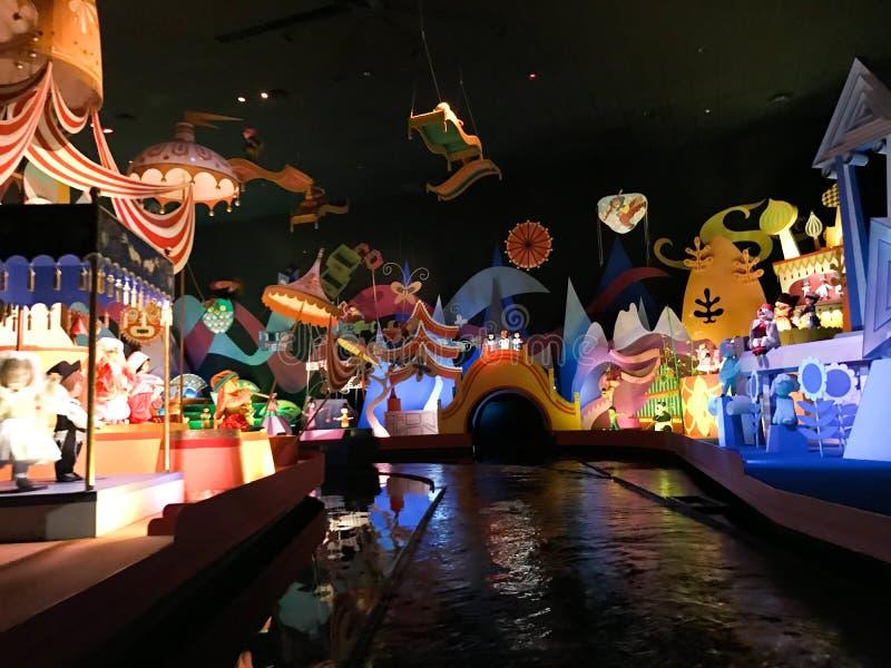 Het ` s een Kleine Wereldrit, Walt Disney World, Florida stock fotografie