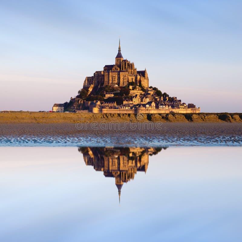 Het Saint Michel van Mont, Frankrijk royalty-vrije stock foto