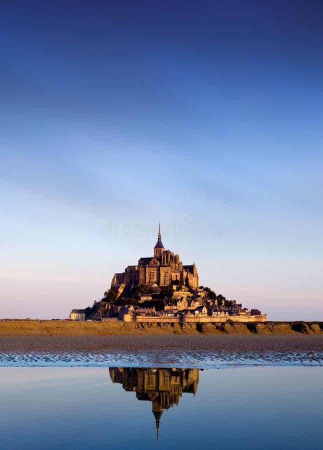 Het Saint Michel van Mont, Frankrijk stock afbeelding