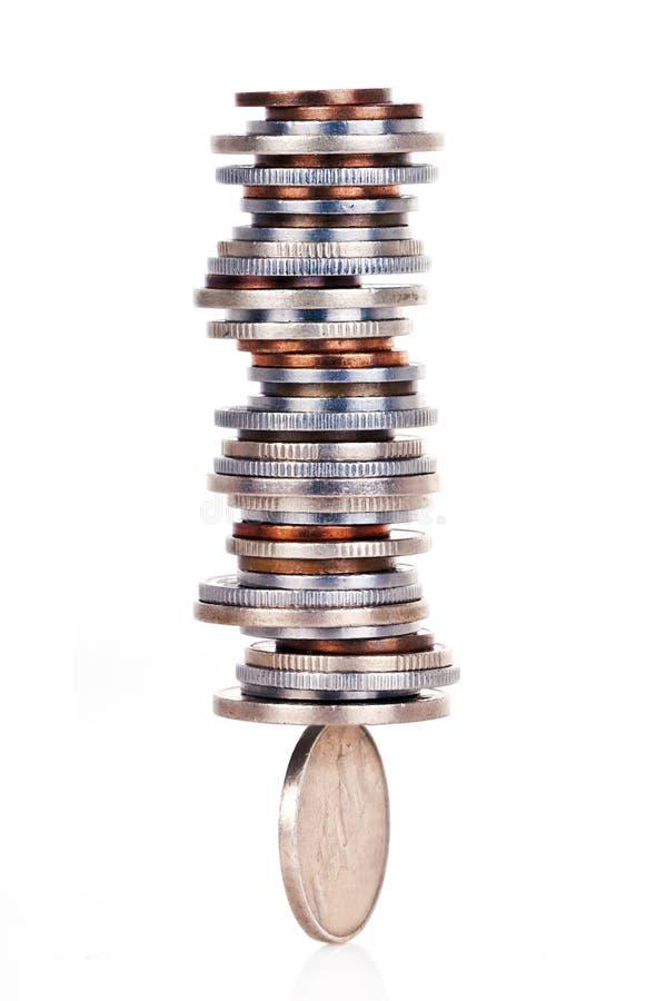 Het saldo van het geld royalty-vrije stock fotografie