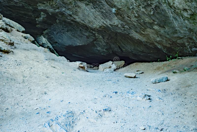 Het Salpeterhol stock afbeeldingen