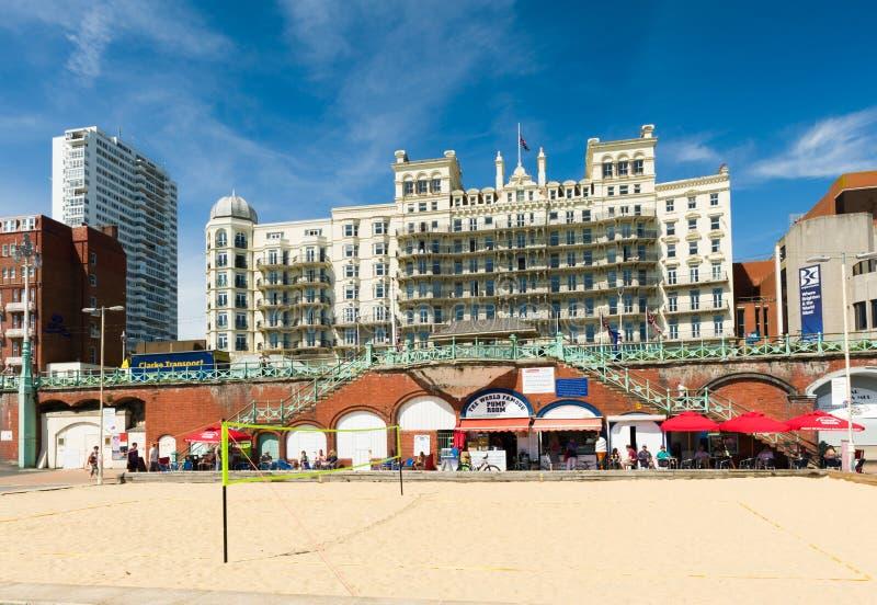Het Salvo van het strand stock afbeeldingen