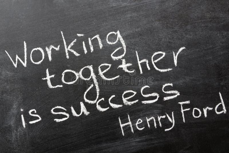 Het samenwerken